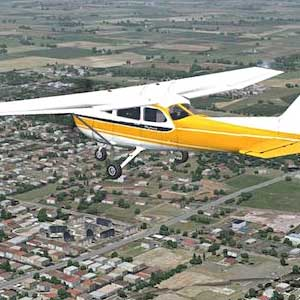 Dovetail Games Flight School - Piper PA-18 Super Cub Yellow