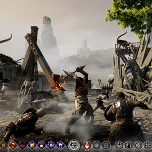 Dragon Age Inquisition Xbox One - Gameplay