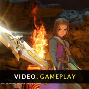 DRAGON QUEST 11 S Echoes of an Elusive Age Video Gameplay