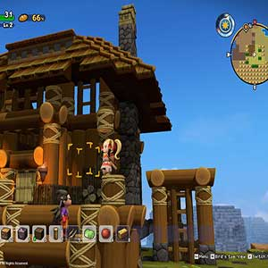 help the villagers rebuild their town