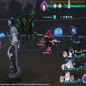 vertically-oriented battle system