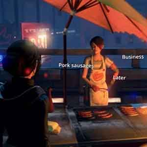 Dreamfall Chapters - Interacting with NPCs