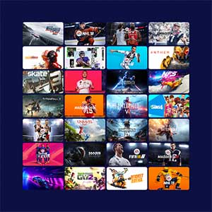 EA PLAY PRO Game's Catalog