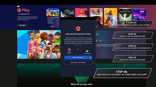 EA Play Steps