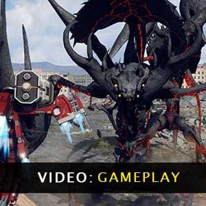 EARTH DEFENSE FORCE IRON RAIN Gameplay Video