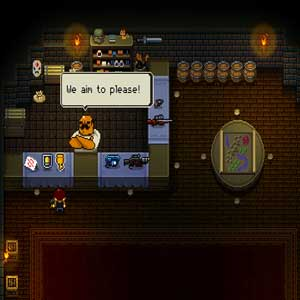 Enter the Gungeon - Firearms store
