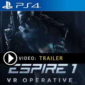 Espire 1 VR Operative PS4 Prices Digital or Box Edition