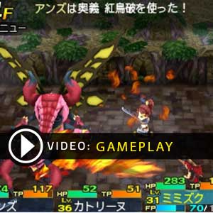 Etrian Mystery Dungeon 2 Nintendo Gameplay Video
