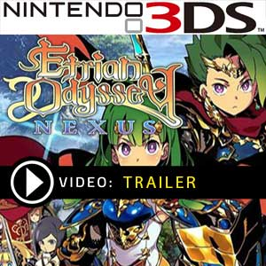 Etrian Odyssey Nexus Nintendo 3DS Prices Digital or Box Edition