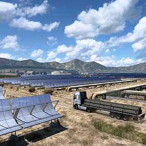 Euro Truck Simulator 2 Iberia Solar Panels