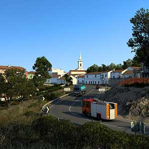 Euro Truck Simulator 2 Iberia Town