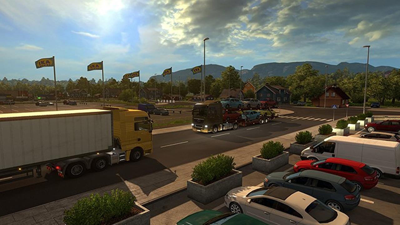 euro truck simulator 2 scandinavia digital download price. Black Bedroom Furniture Sets. Home Design Ideas