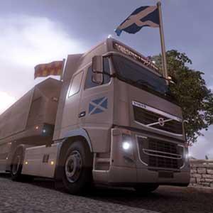 Scottish Flag Metallic