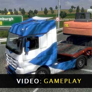 Euro Truck Simulator 2 Gameplay Video