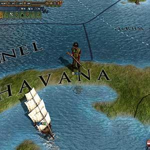 Europa Universalis 4 Conquistadors Unit pack - Map