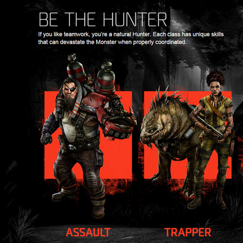Evolve Xbox One - Hunter Team