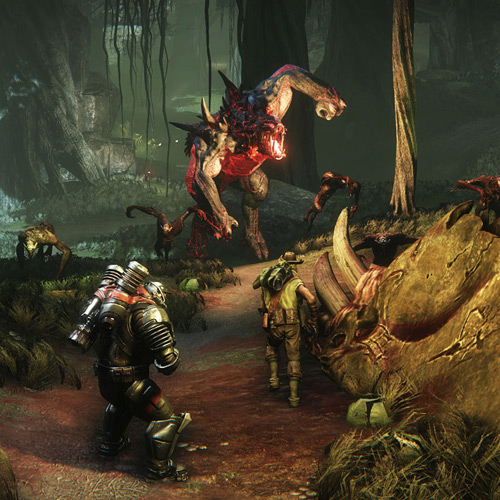 Evolve PS4 - Gameplay Screenshot