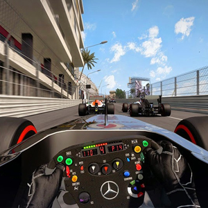 F1 2015 - Race Interface