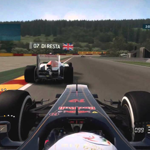 F1 2015 - First person view