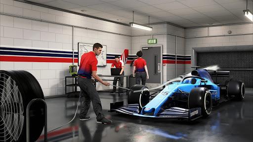 F1 2021 Garage