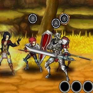 furious real-time battles