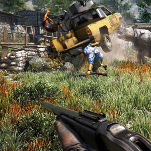 Far Cry 4 PS4 Screenshot - Rhino
