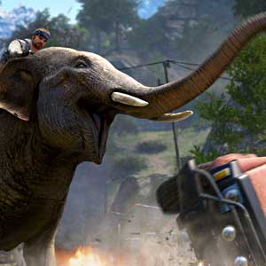 Far Cry 4 Screenshot - Elephant Attack