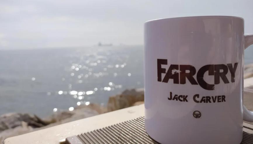 Far Cry 6 Jack Carver Mug