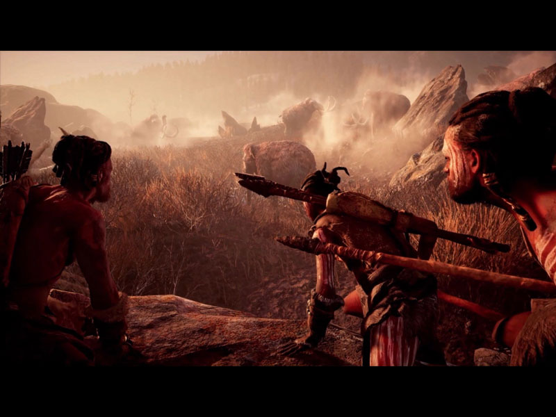 how to ride a mammoth far cry primal