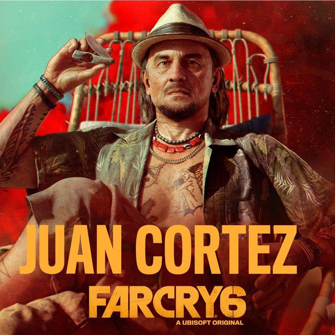 Far Cry 6 Juan Cortez