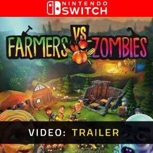 Farmers vs Zombies Nintendo Switch Video Trailer
