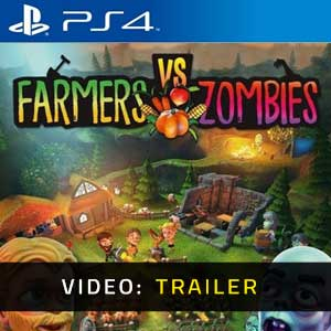 Farmers vs Zombies PS4 Video Trailer