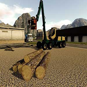 Farming 2017 The Simulation PS4 Wood Cutting Vehicle