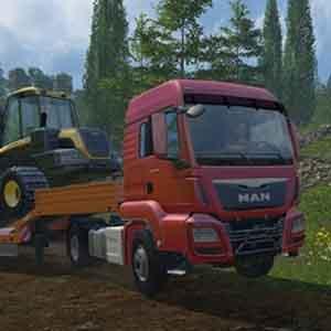 Farming Simulator 15 - MAN Truck At Your Service