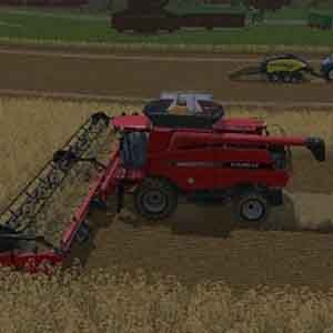 Farming Simulator 15 - Harvesting Grains