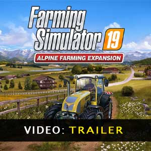 Farming Simulator 19 Alpine Farming Expansion Trailer Video