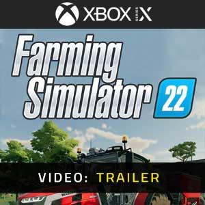 Farming Simulator 22 Xbox Series X Video Trailer