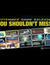 15 September Game Releases You Shouldn't Miss
