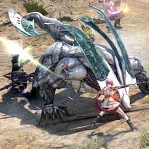 Final Fantasy 14 A Realm Reborn - Battle