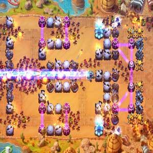 Fieldrunners 2 Explosive traps