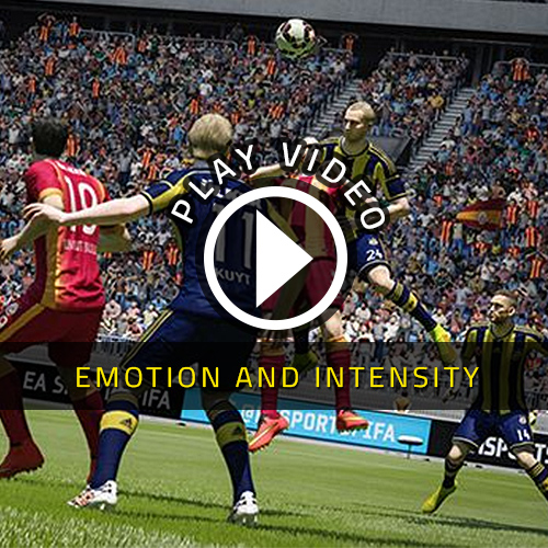 FIFA 15 PS4 - Emotion and Intensity