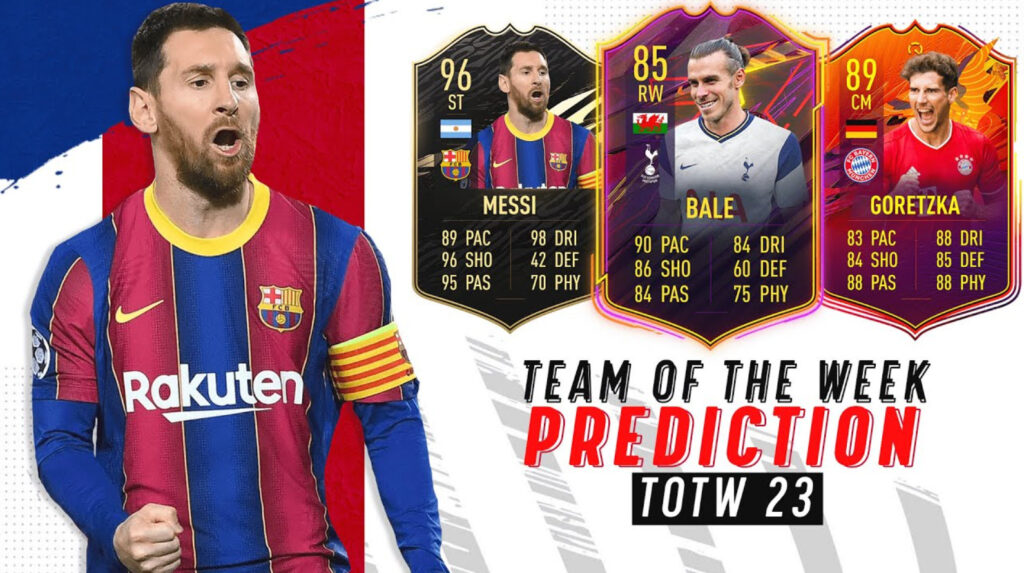 Week 23 Team of the Week prediction
