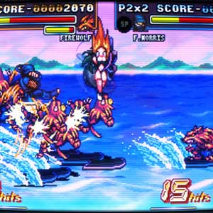 Fight N Rage - Skills Combo