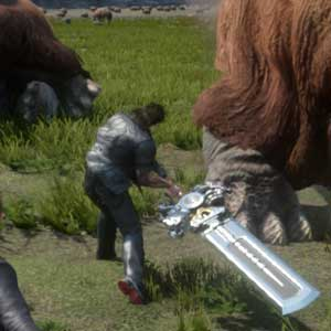 Fantasy 15 PS4 - Hostile Wildlife