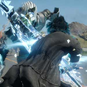 Final Fantasy 15 Xbox One - Fighting