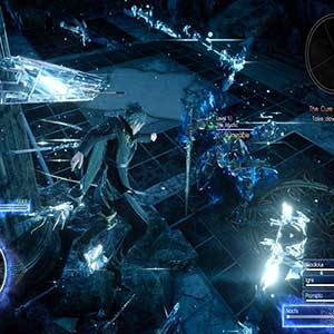 Final Fantasy 15 Xbox One Facing Giant enemy