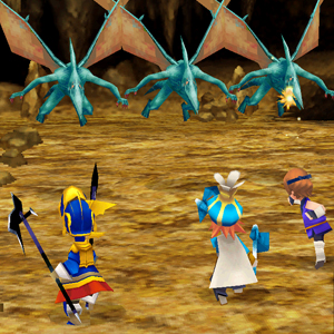 Final Fantasy 3 Battle
