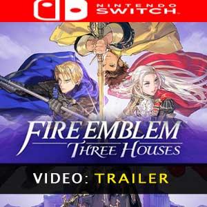 Fire Emblem Three Houses trailer video