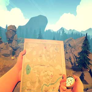 FireWatch PS4 - Map