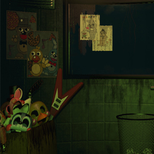 Five Nights at Freddys 3 - Room